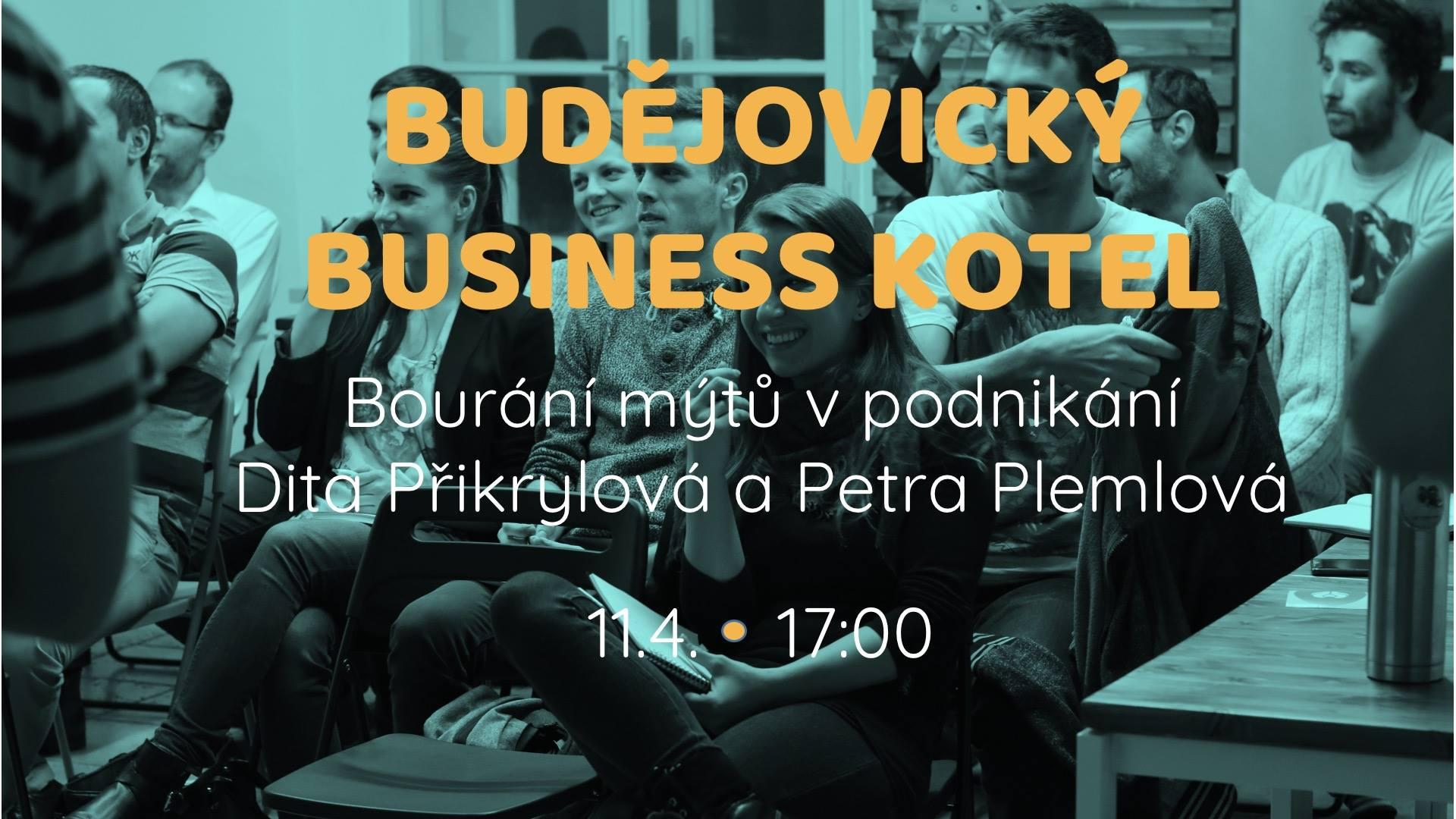 Business kotel s Ditou Přikrylovou a Petrou Plemlovou