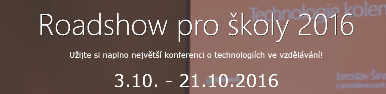 Roadshow pro školy 2016 - České Budějovice